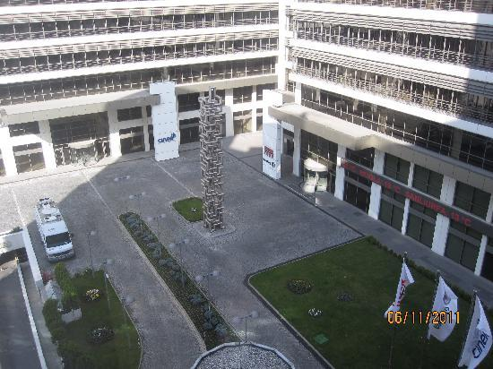 Feronya Hotel: you can see this scene from the hotel front view