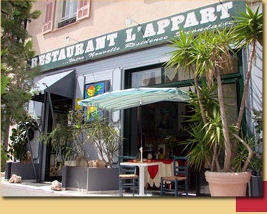 L' Appart de Franck : Restaurant l'appart de  franck