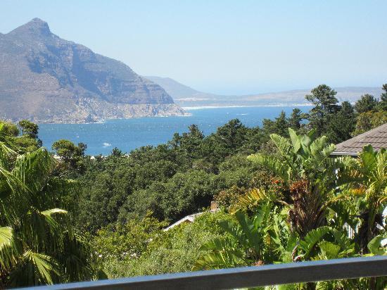 The Platinum Boutique Hotel: Blick auf Meer und Chapmans Peak