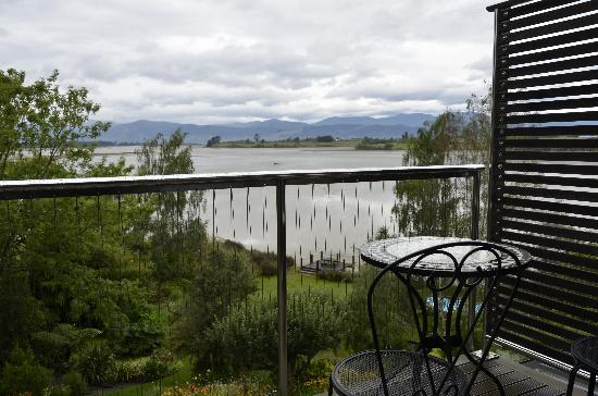 Atholwood Luxury Country Accommodation: view from room by a cloudy morning