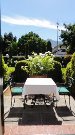 Van der Stel Manor: Gartensitzplatz