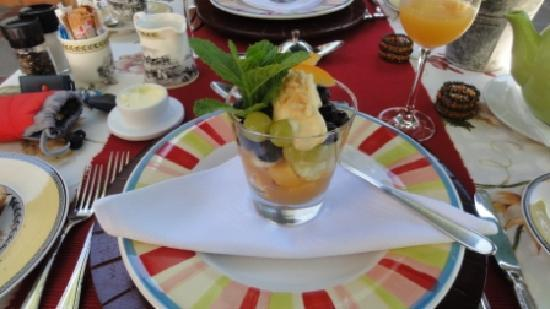 Van der Stel Manor: Frühstück Tag 2