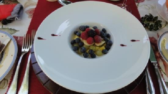 Van der Stel Manor: Frühstück Tag 3