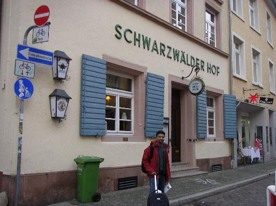 Schwarzwaelder Hof Hotel: Location -On a quite street
