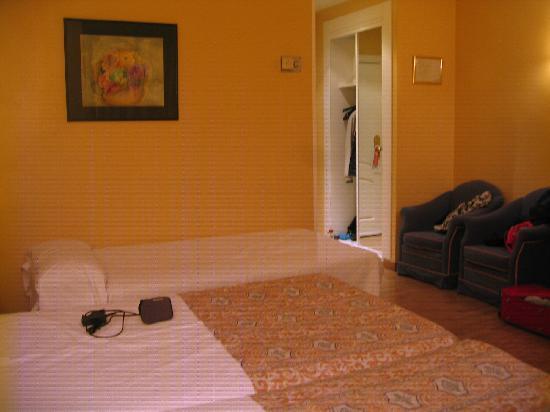 Corona de Granada Hotel : Particolare della stanza