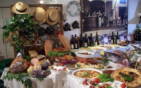 Napul'è Ristorante - Pizzeria : buffet