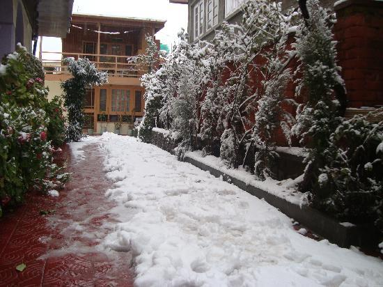 Hotel JH Bazaz (Happy Cottage): Winter time
