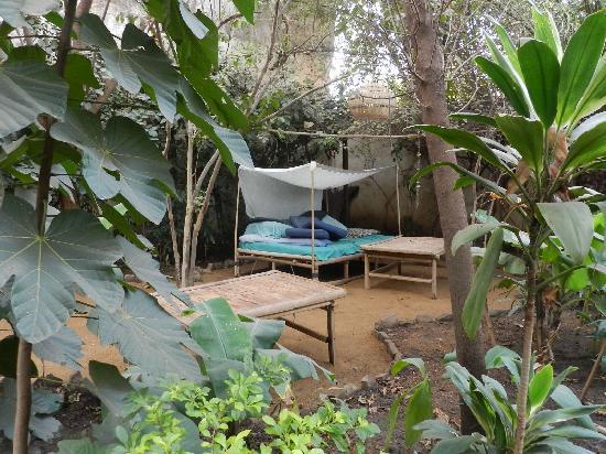 Auberge Djamilla: un luogo isolato