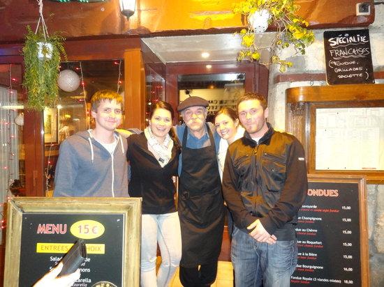 L'Auberge du Moulin: Friendliest restaurant in Paris?
