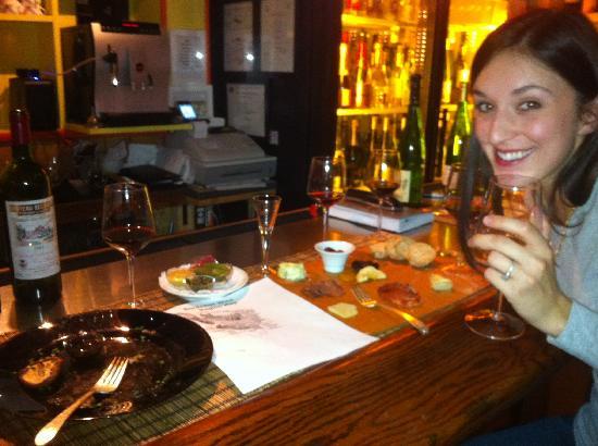 Amour Wine Bistro: Enjoying the Wine