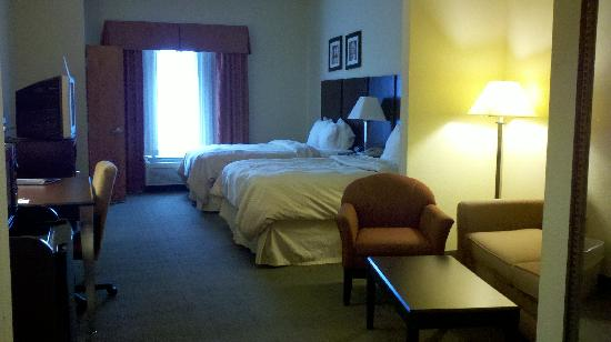 Comfort Suites Murfreesboro: view from door