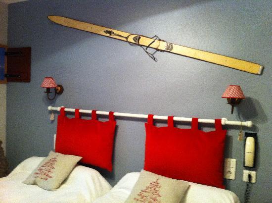Hotel Restaurant du Trinquet : Habitación Le Ski
