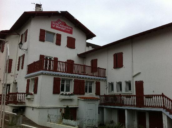 Hotel Restaurant du Trinquet : Entrada del hotel