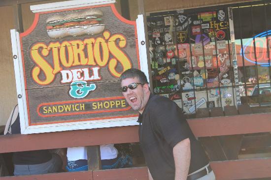 Storto's Deli & Sandwich Shop: just outside