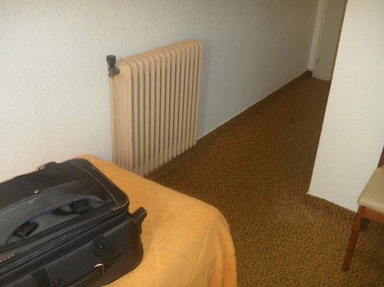 Shelton Hotel: Calefaccion no se como se utiliza