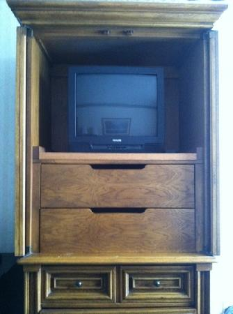Lakeview Golf Resort and Spa: small TV