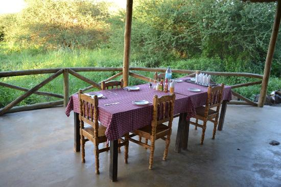 Ol Mesera Tented Camp: Restaurant