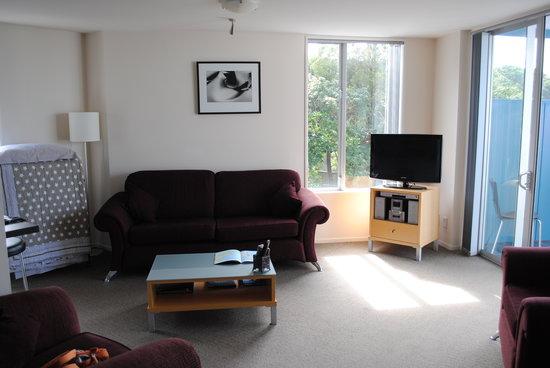 Apartments Kaikoura: Living room