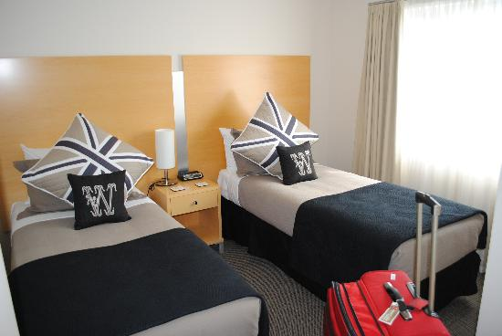 Kaikoura Apartments : Lovely beds, we fit rollaway in, too
