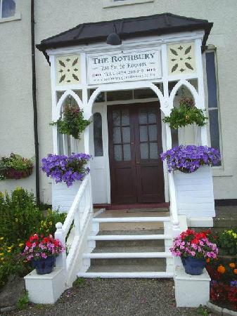 Rothbury Guest House: FRONT ENTRANCE