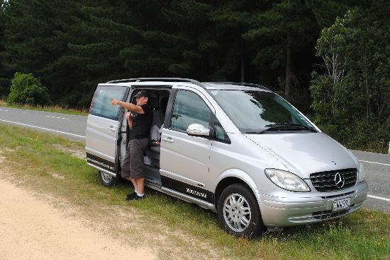 Wine Art and Wilderness: Noel and his van