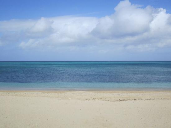 Tiger Beach : ocean and sky