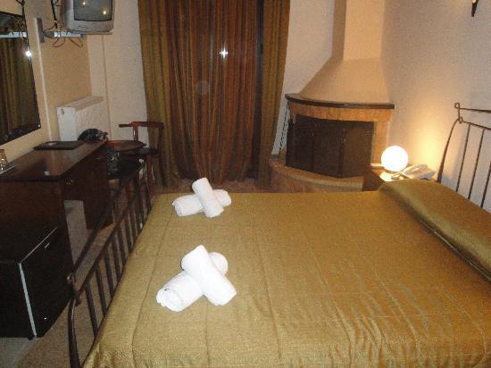 Ahilion Hotel: το δωματιο