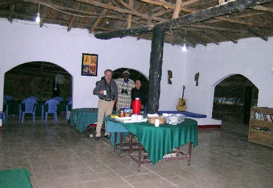 Bird Safari Camp: restaurant