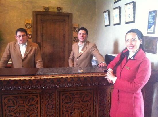 Belmond Hotel Monasterio: staff del hotel monasterio