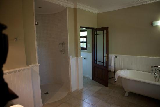 Schoone Oordt Country House: Eine riesige Dusche
