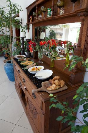 Swellendam, Sydafrika: Tolles Frühstück