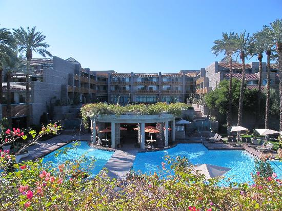 View of pools - Picture of Hyatt Regency Scottsdale Resort ...