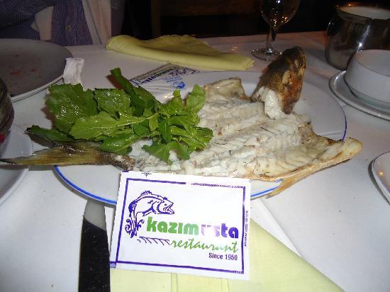 Kazim Usta Restaurant: best fish
