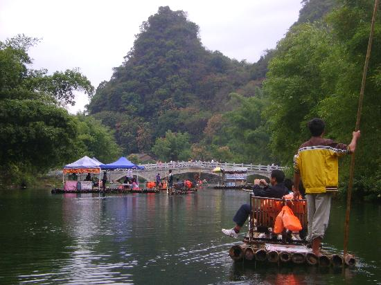 Dragon River Retreat: On the raft trip