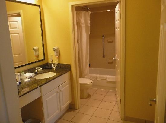 Homewood Suites Miami-Airport / Blue Lagoon: Bathroom