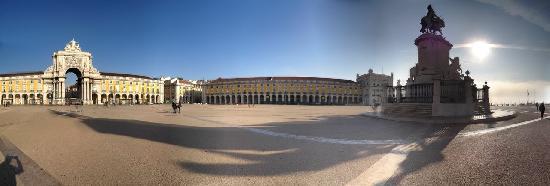 Praca do Comercio (Terreiro do Paco): Panorama of the square