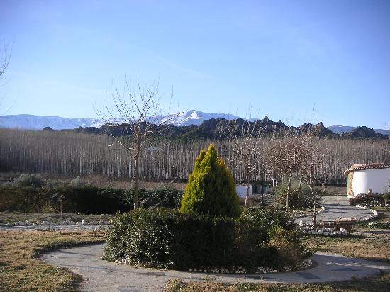 Cuevas Hammam Abuelo Jose: garden front