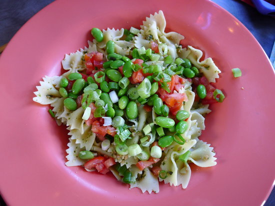 The Naked Noodle: Pasta, a colorful presentation!
