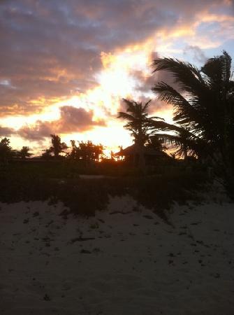 Northwest Point Resort: sunset northwest point