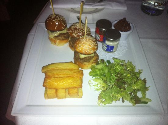 Rocpool Reserve hotel & Chez Roux: Room Service - Delicious!