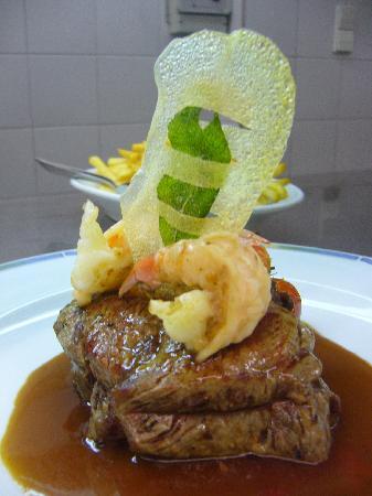 Hotel Kirnbacher Hof: Steak