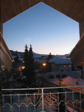 Hotel Reitlwirt: Sunrise from superior room #22