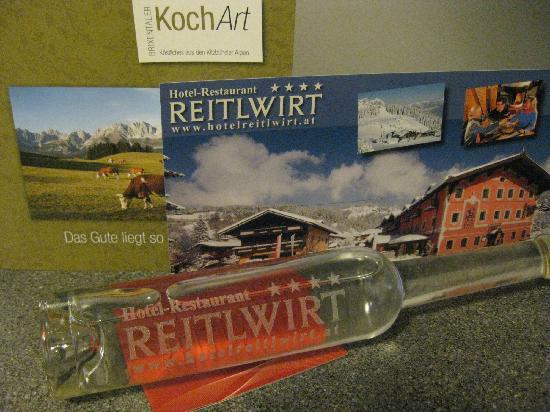 Hotel Reitlwirt: Plum schnapps