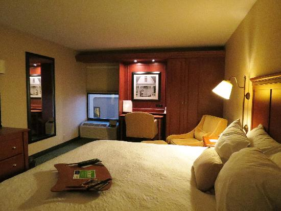 Hampton Inn Toledo South Maumee: Beautiful cabinetry and recessed lighting.