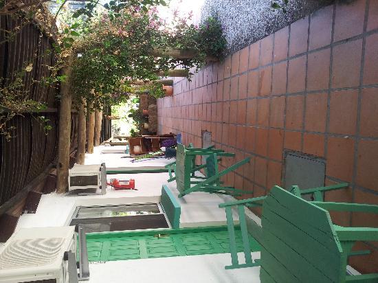 Hotel Y Posada La Chihuahua : Corredor a las habitaciones