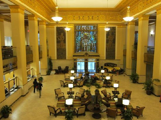 Art Deco Lobby Picture Of Drury Plaza Hotel San Antonio