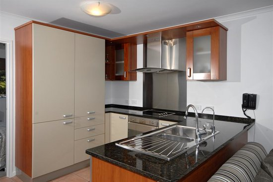 Blue Pacific Apartments Paihia: Full Italian Kitchens, with kitchenette in Studio.