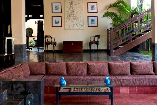 The SAMAR Villa & Spa Resort: Le lobby
