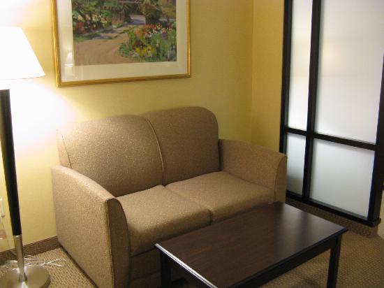 Quality Suites: Freeport Comfort Suites King Rm Sitting Area