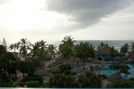 Costa Linda Beach Resort: view from our room